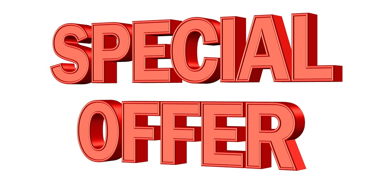 Special offer.